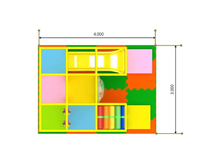 室内複合遊具 パターン3