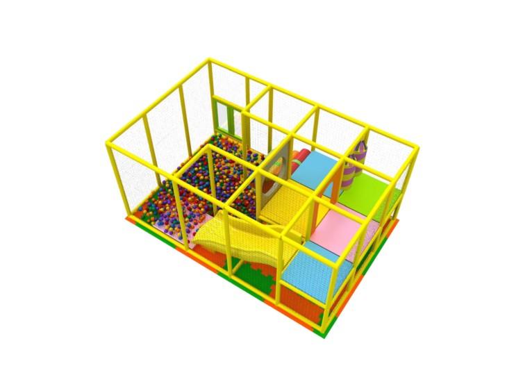 室内複合遊具 パターン4