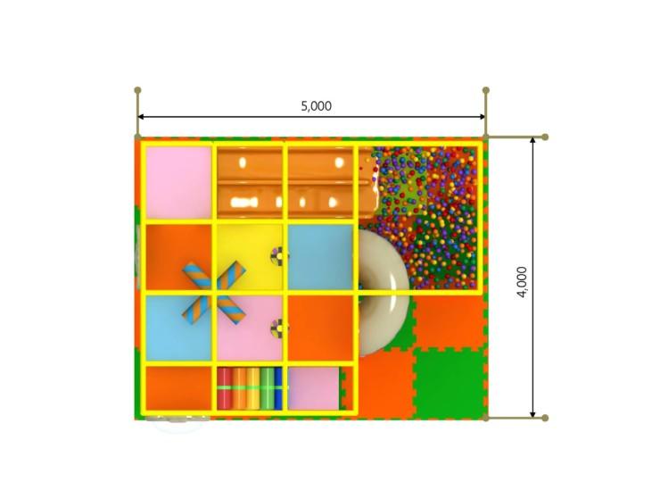 室内複合遊具 パターン12